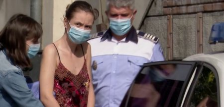 Psiholoaga care a incercat sa ucida cu masina un politist pe motocicleta, condamnata la ani grei de inchisoare