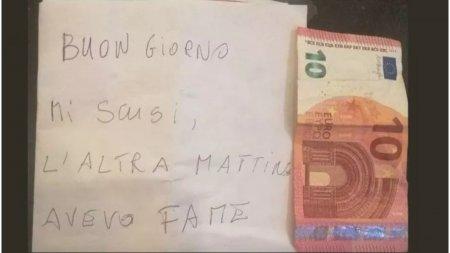A furat cornurile, dar a platit <span style='background:#EDF514'>DATORIA</span> a doua zi: Scuzati-ma, mi-era foame, dar nu aveam bani
