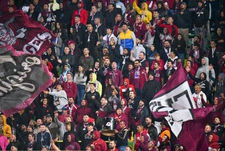 S-au tinut de cuvant » Rapid, aban<span style='background:#EDF514'>DONA</span>ta de galerie la meciul cu CFR Cluj