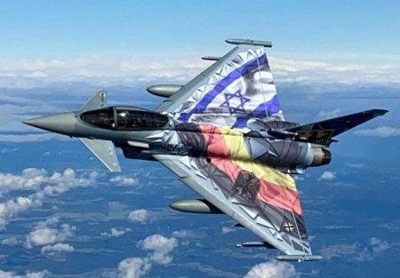 Cel mai mare exercitiu aerian din Israel. Avioane din Israel si Germania au survolat impreuna
