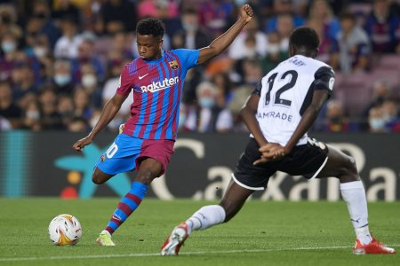 Barcelona - Valencia, derby-ul etapei din La Liga » Ansu Fati egaleaza