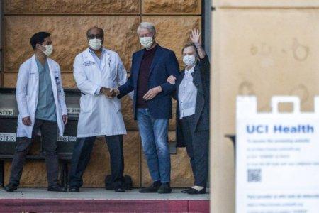 Bill Clinton a parasit spitalul dupa ce a stat internat cinci nopti. Ce probleme d<span style='background:#EDF514'>E SANATATE</span> are fostul presedinte american