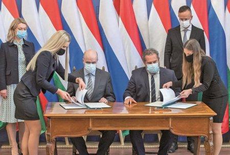 Cu o retea de legaturi diplomatice, unele periculoase, extinsa si cu o diversificare reala a surselor de energie, Ungaria are rezervoarele de gaze aproape pline pentru la iarna