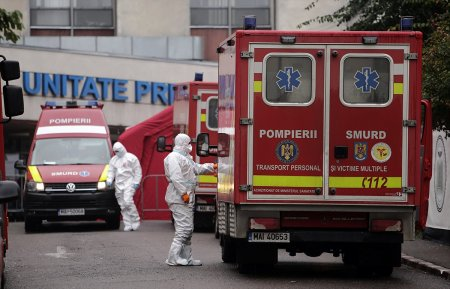 Coronavirus in Romania, 18 octombrie. Numarul deceselor COVID se apropie de pragul de 42.000