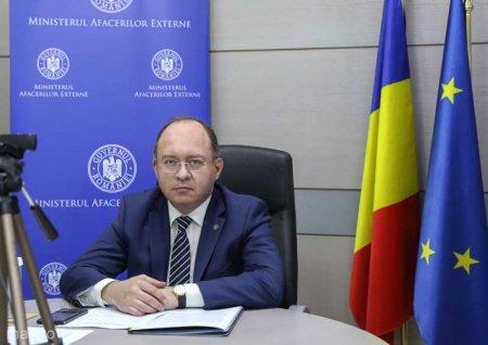 Bogdan Aurescu participa la reuniunea ministrilor de Externe din statele membre UE