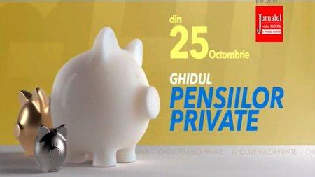 Ghidul pensiilor private, din 25 octombrie la Antena 3 si in ziarul Jurnalul