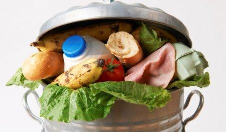 Romanii arunca, in medie,129 kg de hrana pe an la gunoi. De la mancare gatita, pana la fructe si carne