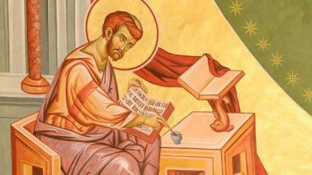 Calendar ortodox 18 octombrie 2021. Sfantul Evanghelist Luca, cel mai iubit dintre apostoli