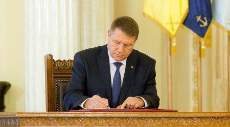 Klaus Iohannis a semnat decretul! Decizie de ultima ora a presedintelui Romaniei