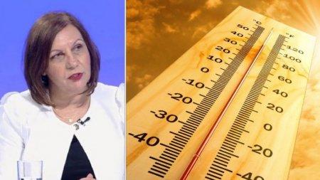 Vremea se incalzeste puternic. Directorul ANM Elena Mateescu: Vom avea si temperaturi de 23 de grade Celsius