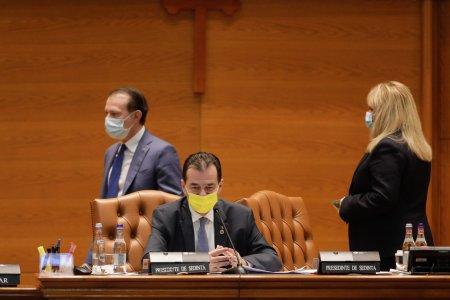 Florin Roman este noul presedinte interimar al Ca<span style='background:#EDF514'>MEREI</span> Deputatilor