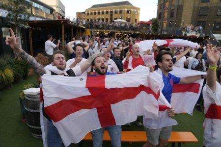 Anglia fara suporteri in tribune din cauza tulburarilor din finala Euro 2020