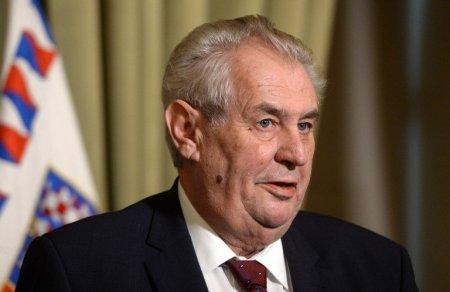 Situatie prezidentiala dificila: Seful statului ceh e prea bolnav pentru a-si putea indeplini atributiile