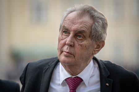 Situatie dificila in Cehia. Presedintele tarii este prea bolnav pentru a-si putea indeplini atributiile