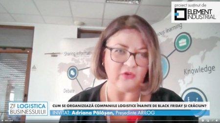 ZF Logistica Businessului, un proiect ZF si Element Industrial. Adriana P<span style='background:#EDF514'>ALAS</span>an, ARILOG: Potentialul de expansiune in logistica este unul mare. Pentru investitii industriale avem nevoie si de investitii in resursa umana