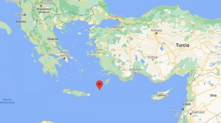 Un nou cutremur puternic, in Grecia. A fost resimtit si in Egipt, Cipru si Israel