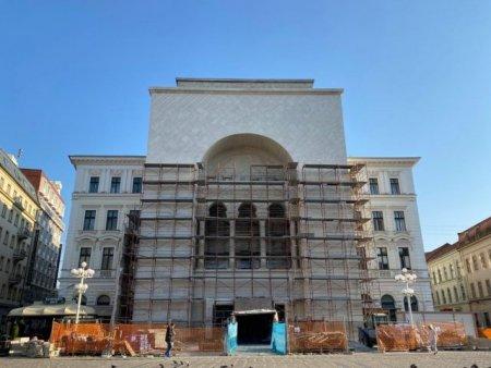 Situatie: Fatada Operei din Timisoara a fost restaurata gresit (VIDEO)