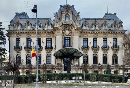 Sediul Muzeului Enescu din Bucuresti, inchis din 25 octombrie, pentru aproximativ doi ani