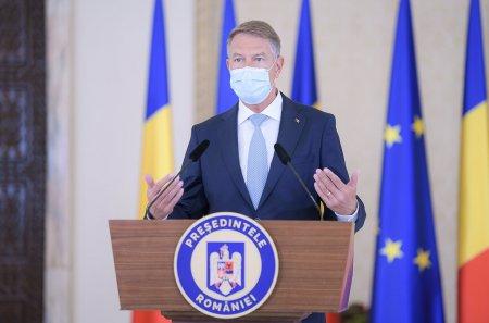 ORA 18:15 | Iohannis face declaratii in ziua in care Romania a avut cel mai negru bilant COVID