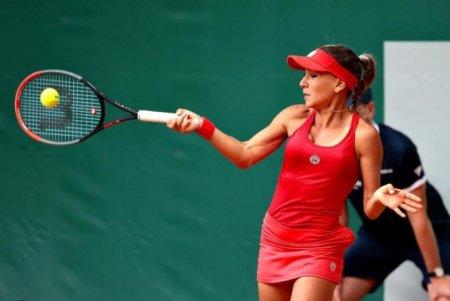 <span style='background:#EDF514'>IRINA</span> Bara, out de la WTA Kremlin Cup, turneu de tenis disputat la Moscova