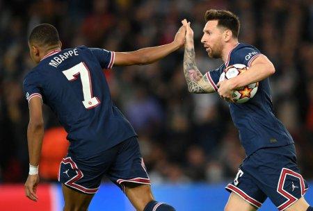 Liga Campionilor, teritoriul lui Leo Messi! Prima dubla in tricoul lui PSG si inca doi pasi spre <span style='background:#EDF514'>BALONUL</span> de Aur