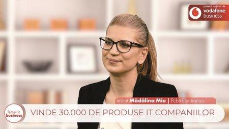 Proiect ZF/Vodafone. Femei In business. Madalina Miu, cofondatoare si managing director, Pcbit Electronics: Reusita este cladita pe greseli, altfel nu ai cum sa ajungi acolo