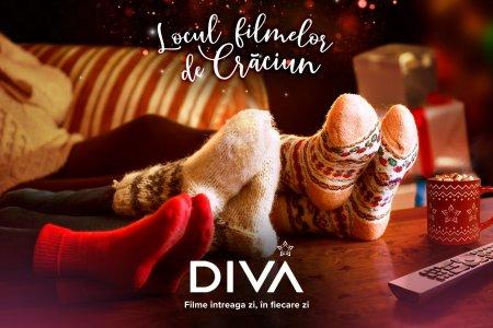 Din 24 octombrie DIVA devine locul filmelor de Craciun