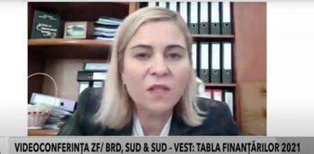 Videoconferinta ZF/BRD Sud & Sud-Vest. Tabla finantarilor 2021. Daniela-Elena Rebega, Directia Generala de Dezvoltare Rurala - AM PNDR: La nivel de tara avem, in medie, 3,3 beneficiari pe comuna
