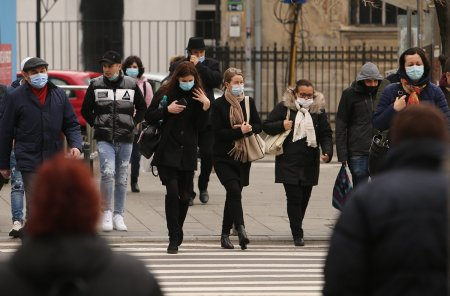 Rata de infectare din Bucuresti continua sa creasca