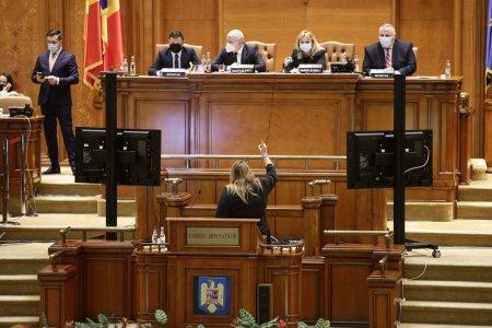 Diana Șosoasca, scandal cu Anca Dragu: Senatoarea a refuzat sa plece de la pupitru