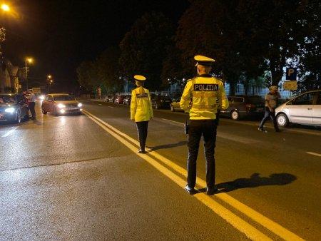 Controale de noapte mai severe in Bucuresti, a fost suplimentat numarul fortelor de ordine