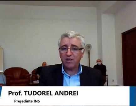 Tudorel Andrei, presedintele INS: Estimam ca in perioada urmatoare populatia Romaniei va <span style='background:#EDF514'>SCADE</span>a. Daca vom merge pe acelasi trend, in 2030 vom avea o populatie de 17,8 mil. persoane
