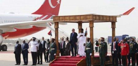 Sultanul Erdogan nu se lasa la tarul Putin si imparatul Xi. A plecat in cucerirea Africii VIDEO