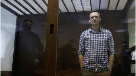 Disidentul rus Alexei Navalnii castiga Premiul Saharov 2021
