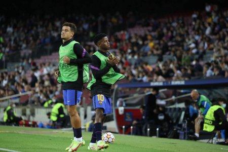 Camp Nou a erupt sub ochii lui Mircea Lucescu! Doar cu Leo Messi se mai intampla asa ceva