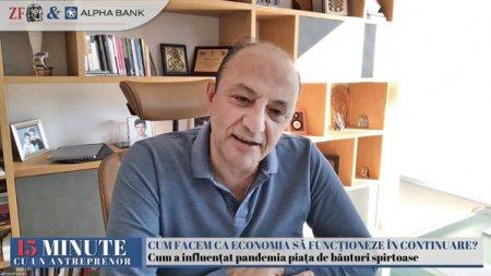 ZF 15 minute cu un antreprenor, un proiect Ziarul Financiar si Alpha Bank. Nawaf Salameh, Alexandrion Group: Avem 1.000 de angajati la nivel global, am externalizat foarte multe departamente si ne concentram pe ce stim cel mai bine, pe productie