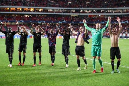 Bayern <span style='background:#EDF514'>MUNCHEN</span> ramane distrugatoare. Trei goluri in cinci minute pe Da Luz