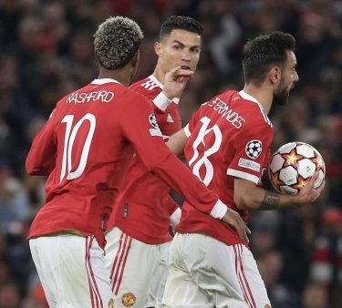Cristiano Ronaldo, din nou decisiv pentru Manchester <span style='background:#EDF514'>UNITED</span>