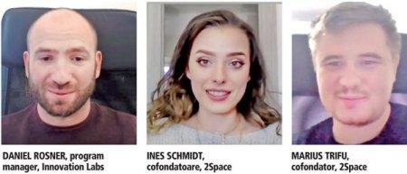 ZF IT Generation. Inesa Schmidt si Marius Trifu, cofondatori 2Space, proiectul desemnat Start-up-ul anului in finala programului Innovation Labs: Cautam o finantare de 2 milioane de euro