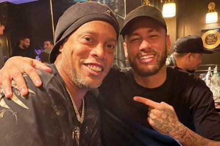 Imaginile care i-au aprins pe Beckham si Casemiro » Ce au facut Neymar si Ronaldinho dupa meciul PSG-ului din Champions League