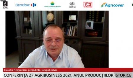 ZF Agribusiness 2021. Anul productiilor istorice. <span style='background:#EDF514'>CLAUDIU</span> Necsulescu, Presedinte, Grupul Jidvei: Este o perioada in care lipsa de predictibilitate, mai ales pe partea de aprovizionare cu inputuri, ne creeaza mari probleme