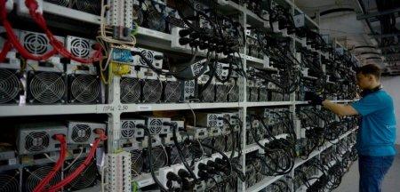 Perchezitii DIICOT la o fabrica de bitcoini. Miner acuzat ca le-a furat partenerilor de afaceri parolele si <span style='background:#EDF514'>ECHIPAMENT</span>ele
