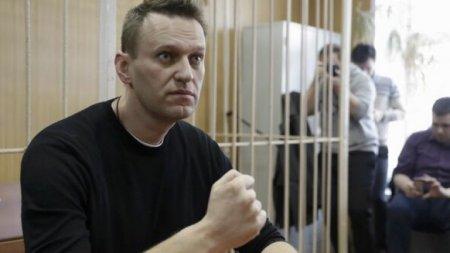 Opozantul rus Aleksei Navalnii, laureat al premiului Saharov 2021 al <span style='background:#EDF514'>PARLAMENTUL</span>ui European