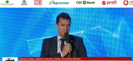 ZF Agribusiness 2021. Anul productiilor istorice. Florian Ciolacu, <span style='background:#EDF514'>DIRECTOR</span> executiv, Clubul Fermierilor Romani: Fermierul performant este pe propriile capacitati in ceea ce priveste dezvoltarea prin investitii