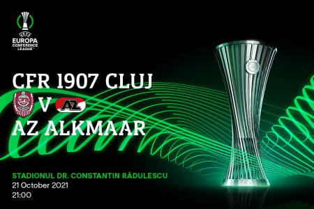 LIVE CFR Cluj - Alkmaar (22:00)