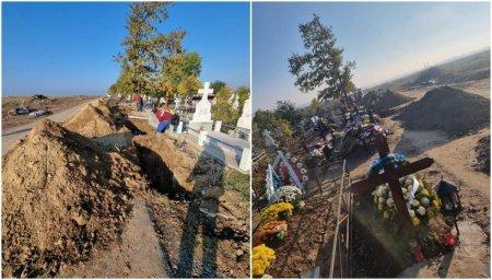 Situatie dramatica la cimitirul din <span style='background:#EDF514'>SLOBOZIA</span>: 8 inmormantari ieri si alte 7 gropi sapate azi in cimitirul din <span style='background:#EDF514'>SLOBOZIA</span>. Oficial: Vaccinati-va