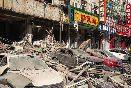 Explozie puternica intr-un restuarant din estul Chinei. Cel putin trei morti si zeci de raniti