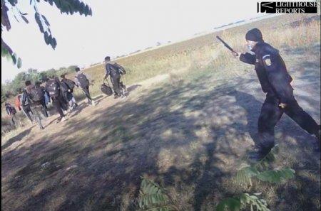 Desi filmati cum ii trimit pe refugiati peste granita cu Serbia, MAI cere dovezi ca sa-i verifice pe vamesii care fac asta