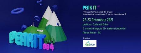 AgileHub: Maraton pentru comunitatea IT! Incepe PeakIT 004, a patra editie a conferintei comunitatii IT d<span style='background:#EDF514'>IN BRASO</span>v