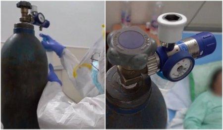 Un spital din Botosani fara statie de oxigen a instalat tuburi folosite de obicei pentru sudura ca sa trateze pacientii COVID